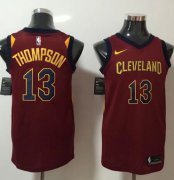 Wholesale Cheap Nike Cleveland Cavaliers #13 Tristan Thompson Red NBA Swingman Icon Edition Jersey