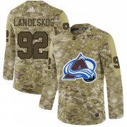 Wholesale Cheap Adidas Avalanche #92 Gabriel Landeskog Camo Authentic Stitched NHL Jersey