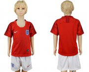 Wholesale Cheap England Blank Away Kid Soccer Country Jersey
