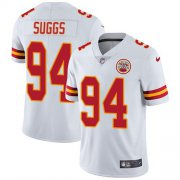 Wholesale Cheap Nike Chiefs #94 Terrell Suggs White Youth Stitched NFL Vapor Untouchable Limited Jersey