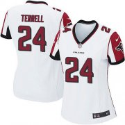 Wholesale Cheap Nike Falcons #24 A.J. Terrell White Women's Stitched NFL New Elite Jersey