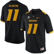 Wholesale Cheap Missouri Tigers 11 Kendall Blanton Black Nike College Football Jersey