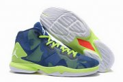 Wholesale Cheap Air Jordan Fly 4 IV Shoes Blue/green