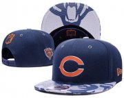 Wholesale Cheap NFL Chicago Bears Stitched Snapback Hats 047