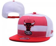 Wholesale Cheap NBA Chicago Bulls Snapback Ajustable Cap Hat YD 03-13_37