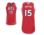 Wholesale Cheap Atlanta Hawks #15 Al Horford Red Swingman Jersey
