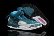 Wholesale Cheap Air Jordan 3.5 Spizike Retro Shoes Dark green/white-grey