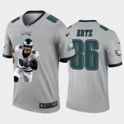 Cheap Philadelphia Eagles #86 Zach Ertz Nike Team Hero 3 Vapor Limited NFL Jersey Grey