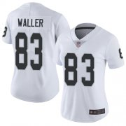 Wholesale Cheap Nike Raiders #83 Darren Waller White Women's Stitched NFL Vapor Untouchable Limited Jersey