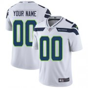 Wholesale Cheap Nike Seattle Seahawks Customized White Stitched Vapor Untouchable Limited Youth NFL Jersey
