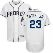 Wholesale Cheap Padres #23 Fernando Tatis Jr. White Flexbase Authentic Collection Stitched MLB Jersey