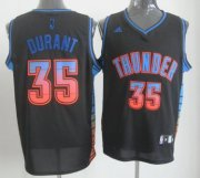 Wholesale Cheap Oklahoma City Thunder #35 Kevin Durant 2012 Vibe Black Fashion Jersey