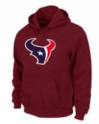 Wholesale Cheap Houston Texans Logo Pullover Hoodie Red
