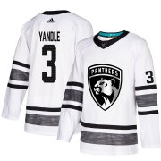 Wholesale Cheap Adidas Panthers #3 Keith Yandle White Authentic 2019 All-Star Stitched Youth NHL Jersey