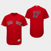 Wholesale Cheap Red Sox #17 Nathan Eovaldi Red Flexbase Authentic Collection Stitched MLB Jersey