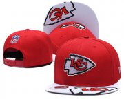 Wholesale Cheap Chiefs Team Logo Red Adjustable Hat TX