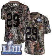 Wholesale Cheap Nike Patriots #29 Duke Dawson Camo Super Bowl LIII Bound Men's Stitched NFL Limited Rush Realtree Jersey