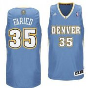 Wholesale Cheap Denver Nuggets #35 Kenneth Faried Light Blue Swingman Jersey