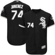 Wholesale Cheap White Sox #74 Eloy Jimenez Black Flexbase Authentic Collection Stitched MLB Jerseys