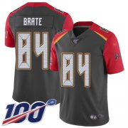 Wholesale Cheap Nike Buccaneers #84 Cameron Brate Gray Men's Stitched NFL Limited Inverted Legend 100th Season Jersey