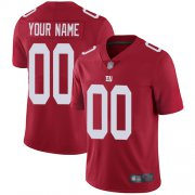 Wholesale Cheap Nike New York Giants Customized Red Men's Stitched NFL Limited Inverted Legend Jersey