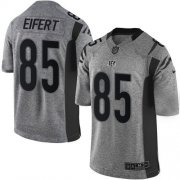 Wholesale Cheap Nike Bengals #85 Tyler Eifert Gray Men's Stitched NFL Limited Gridiron Gray Jersey