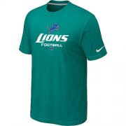 Wholesale Cheap Nike Detroit Lions Critical Victory NFL T-Shirt Teal Green