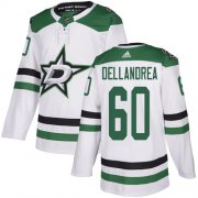 Cheap Adidas Stars #60 Ty Dellandrea White Road Authentic Youth Stitched NHL Jersey
