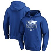 Wholesale Cheap Los Angeles Dodgers Majestic 2019 Postseason Around the Horn Pullover Hoodie Royal