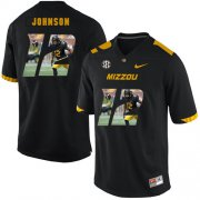 Wholesale Cheap Missouri Tigers 12 Johnathon Johnson Black Nike Fashion College Football Jersey