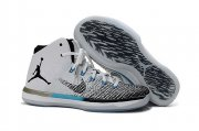 Wholesale Cheap Womens Air Jordan 31 Retro Shoes White/Black