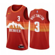 Wholesale Cheap Nike Nuggets #3 Greg Whittington Red NBA Swingman 2020-21 City Edition Jersey