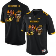 Wholesale Cheap Missouri Tigers 34 Larry Rountree III Black Nike Fashion College Football Jersey