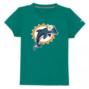 Wholesale Cheap Miami Dolphins Sideline Legend Authentic Logo Youth T-Shirt Light Green