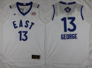 Wholesale Cheap 2015-16 NBA Eastern All-Stars Men's #13 Paul George Revolution 30 Swingman White Jersey