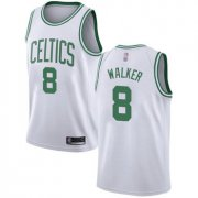 Wholesale Cheap Celtics #8 Kemba Walker White Basketball Swingman Association Edition Jersey