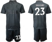 Wholesale Cheap Liverpool #23 Shaqiri Black Soccer Club Jersey