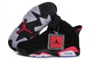 Wholesale Cheap Air Jordan 6 (VI) Retro Women Infrared Shoes black/Infrared
