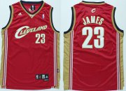 Wholesale Cheap Cleveland Cavaliers #23 LeBron James 2003 Red Swingman Jersey