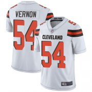 Wholesale Cheap Nike Browns #54 Olivier Vernon White Youth Stitched NFL Vapor Untouchable Limited Jersey