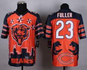 Wholesale Cheap Nike Bears #23 Kyle Fuller Orange Men's Stitched NFL Elite Noble Fashion Jersey