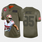 Cheap San Francisco 49ers #85 George Kittle Nike Team Hero 2 Vapor Limited NFL Jersey Camo