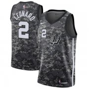 Wholesale Cheap Nike San Antonio Spurs #2 Kawhi Leonard Camo NBA Swingman City Edition Jersey
