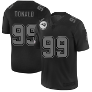 Wholesale Cheap Los Angeles Rams #99 Aaron Donald Men's Nike Black 2019 Salute to Service Limited Stitched NFL Jersey