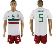 Wholesale Cheap Mexico #5 A.Reyes Away Soccer Country Jersey