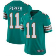Wholesale Cheap Nike Dolphins #11 DeVante Parker Aqua Green Alternate Youth Stitched NFL Vapor Untouchable Limited Jersey