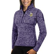 Wholesale Cheap Buffalo Sabres Antigua Women's Fortune 1/2-Zip Pullover Sweater Charcoal