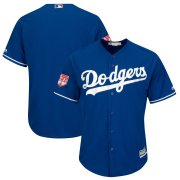 Wholesale Cheap Dodgers Blank Royal 2019 Spring Training Cool Base Stitched MLB Jersey