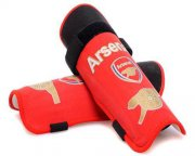 Wholesale Cheap Arsenal Soccer Shin Guards Red