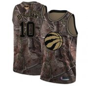 Wholesale Cheap Raptors #10 DeMar DeRozan Camo 2019 Finals Bound Basketball Swingman Realtree Collection Jersey